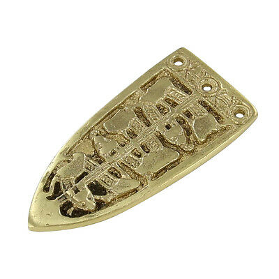 Medieval Serpent of the Seas Brass Viking Belt Buckle Chape