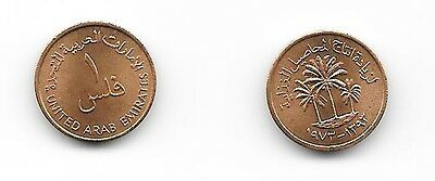 1393-1973 United Arab Emirates 1 Fils BU