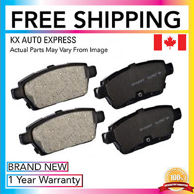 Rear Ceramic Brake Pads For Ford Fusion 2006 2007 2008 2009 2010 2011 2012