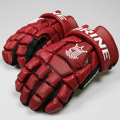 NEW Brine King Superlight 2 Lacrosse Lax Gloves- Maroon List @ $110