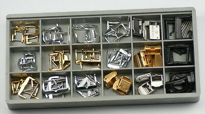 BUCKLES for watch straps x57 economy set watchmakers