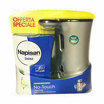 Dettol Napisan No Touch Hand Wash System With Cucumber Refill Automatic Soap