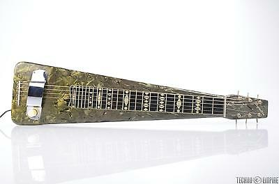 1951 MAGNATONE Rare MOTS Lap Steel Guitar w/ Case REPAIR #25379