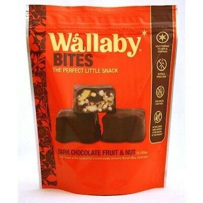 3 X Wallaby Bites Dark Chocolate 150g x6