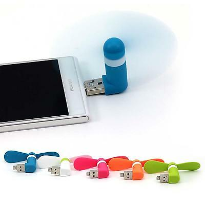 Portable Mini Fan Micro USB Mobile Phone Cooler Small Power For Android iPhone
