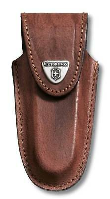 Victorinox Brown Leather Pouch 111 Mm 2-3 Layers