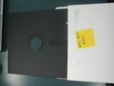"8"" Diskette/Disk With Sleeve, Black, 20 Pcs"