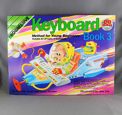 Progressive Keyboard Method For Young Beginners Book 3 - Book & CD