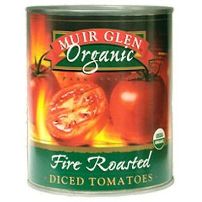 3 X Muir Glen Tomatoes Fire Roasted Diced Organic 794g