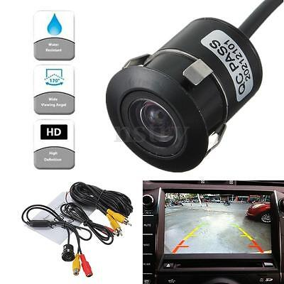 170º Night Vision Car Rear View Reversing Backup Parking Camera NTSC Waterproof