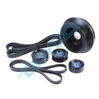 Powerbond 25% Underdrive Pulley Balance Kit Holden 6.0 Ls2 Ls3 L76 L98 Commodore
