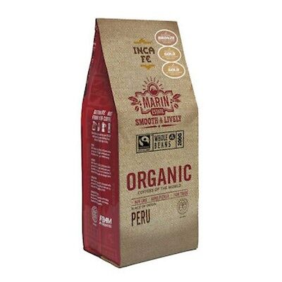 3 X Inca Fe Coffee - Beans Marin Estate Organic 200g