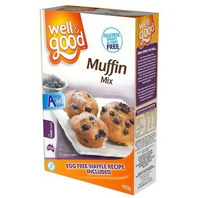 6 X Well and Good Muffin Mix 450g