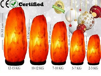 Himalayan Salt Lamp Crystal Pink Salt Lamp Healing Ionizing Lamps Best Quality
