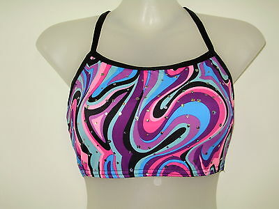 Gymnastics Crop Tops Girls Size 5,6,7,8,10,12 and 14