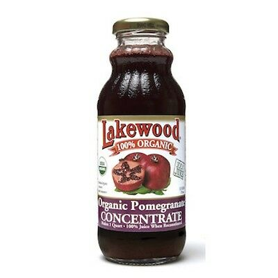 12 X Lakewood Pomegranate Juice Concentrate Organic 370mL