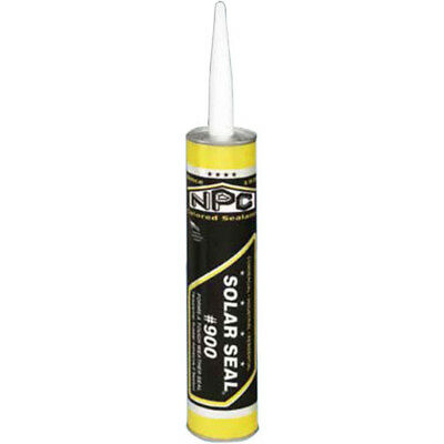Npc Solar Seal #900 Adhesive Sealant Caulk Cape Cod/granite Gray New
