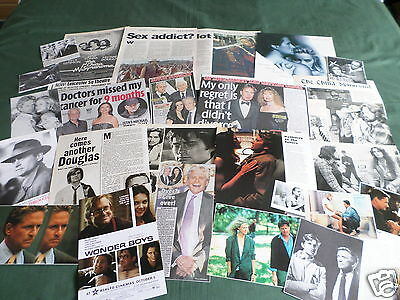 Michael Douglas -  Film Star - Clippings /cuttings Pack