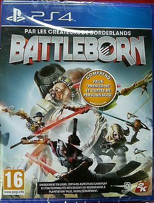 Battleborn Ps4 Neuf Sous Blister, Version Francaise, 5026555418027