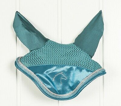 New Hkm Exclusive Fly Veil In Petrol Or Deep Blue