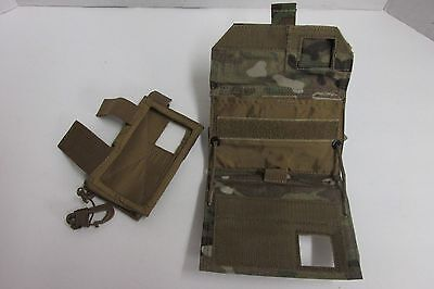 Us Gi Atrix Cell Case Multicam Molle Admin Pouch Tactical Wallet Id Holder