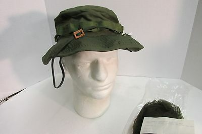 b9bf89ec9da US VIETNAM ERA Od Boonie Hat 6 7 8 Og-107 1969 New In Wrap With ...