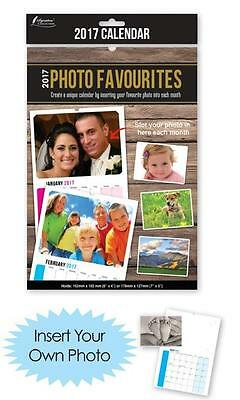 2017 Photo Favourites Calendar - Insert Your Own Photos Personalised Calendar