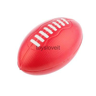 Red Beach Rugby League American Football Toy Kids Children Ball Game Outdoor