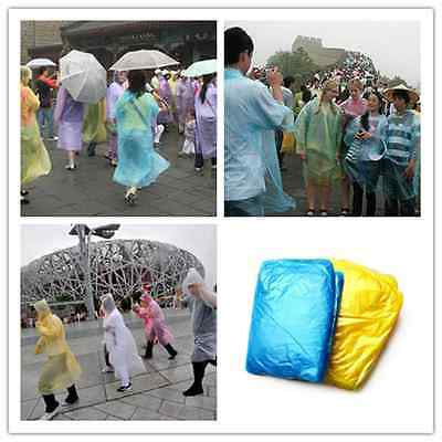 1Pc Disposable Outdoor Camping Travel Hiking Emergency Rain Coat Raincoat Poncho