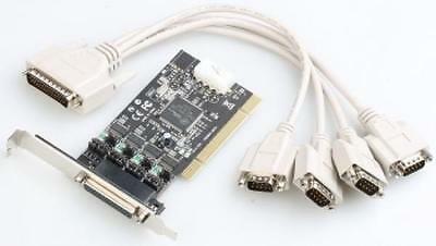 Itec PCI POS Card 4x Serial RS232 with Power Output DC 5/12V (PCIPO4S)/ UK STOCK