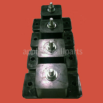 Air Conditioner Mount Bracket Vibration - Set Of 4 Large Rubber Feet/stands