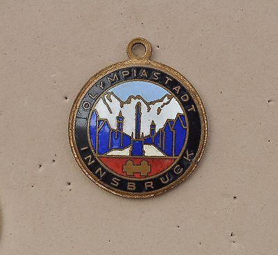 Vintage Innsbruck Austria Forb badge Winter Olympic games