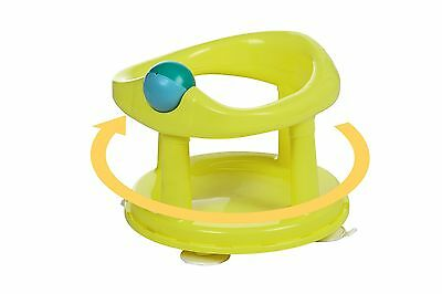 Safety 1st Swivel Bath Seat (Lime) - Baby Bath Bathing Support Seat Chair