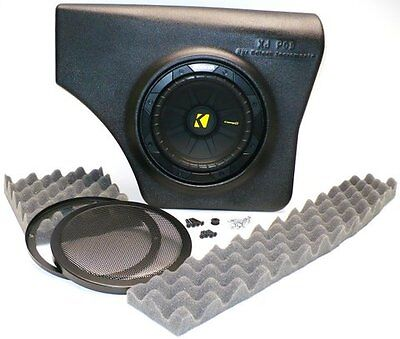 Select Increments Xj-Pod No Speakers Enclosures Only 84-01 Jeep Cherokee 72625