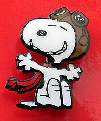 Peanuts Snoopy Flying Ace Booblehead Pin