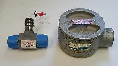 Flow Technology Flow Meter CA03-3-C-0000-9, Turbine Flowmeter, FT-12NEYBR-LED-5