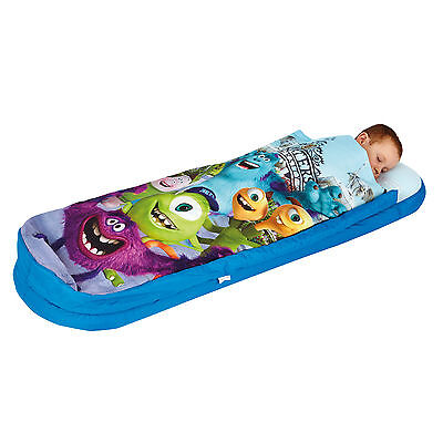Monsters Inc University Boys Junior Readybed Ready Bed inflatable sleeping bag