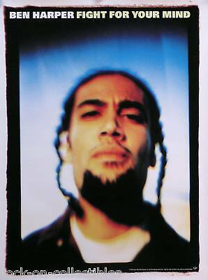 Ben Harper 1995 Fight For Your Mind Promo Poster