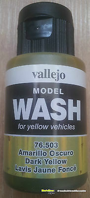Vallejo76503 Model Wash Dark Yellow 35ml