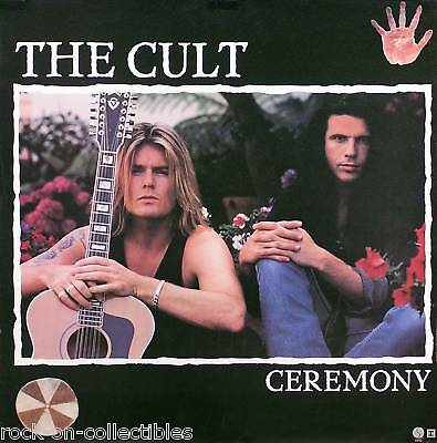 The Cult 1991 Ceremony Promo Poster