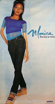 Monica 1998 The Boy Is Mine Promo Poster