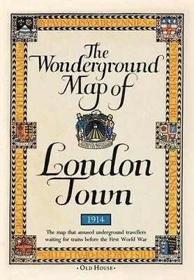 Gill's Wonderground Map of London Town, 1914 by MacDonald Gill.