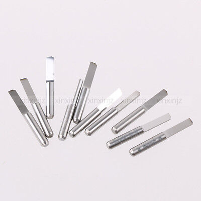 6PCS CNC PCB Router Bits Corn Teeth Drill Milling Cutters