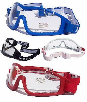 NEW- KROOPS ARCH VENTED Skydiving Parachute Freefall Goggles| 100% UV400 Lens