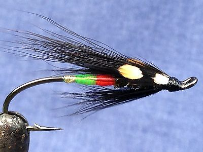 Hairwing fly for Atlantic salmon fly fishing - The Undertaker #6
