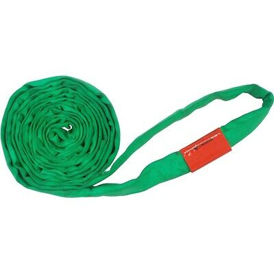 12Ft Endless Green Round Sling 6000LB Vertical EN60-12