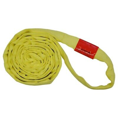 20Ft Endless Yellow Round Sling 9000LB Vertical