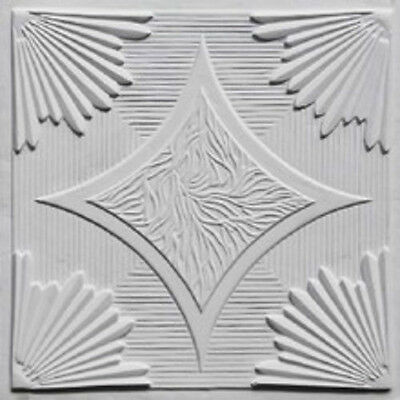Ceiling Tile Decorative PVC Lightweight and Easy to Install DIY #201