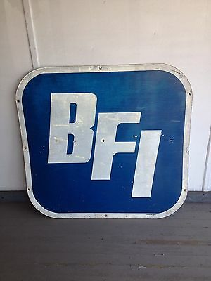 """48"""" Bfi Waste Systems Sign"""