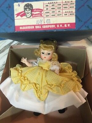Madame Alexander Doll Amy Vintage In Box.  Great Condition.